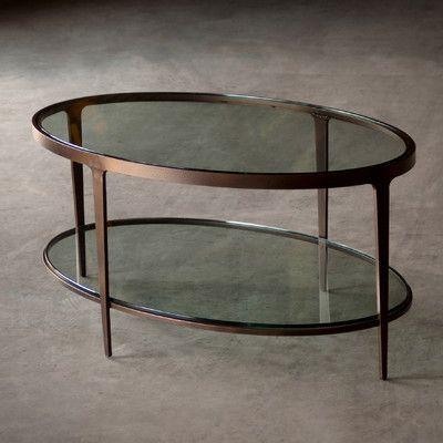 Best Charleston Forge Ellipse Coffee Table Wayfair Living 400 x 300