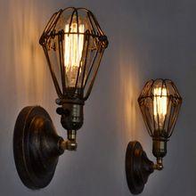 Стиле лофт люстра американский кантри старинные бра промышленные античная флягодержатель света для спальни кухня лестницы офис светильник(China (Mainland))