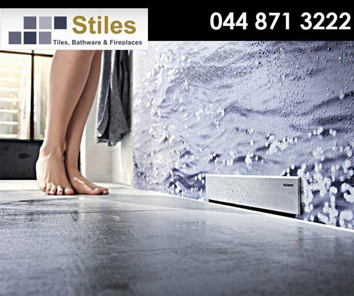 #Geberit shower wall drains of the CleanLine series looks good and gives a neat and tidy impression. Call #StilesGeorge on 044 871 3222 for more info or visit our showroom today.