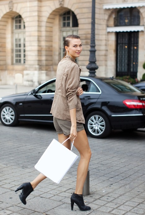 Karlie Kloss out shopping