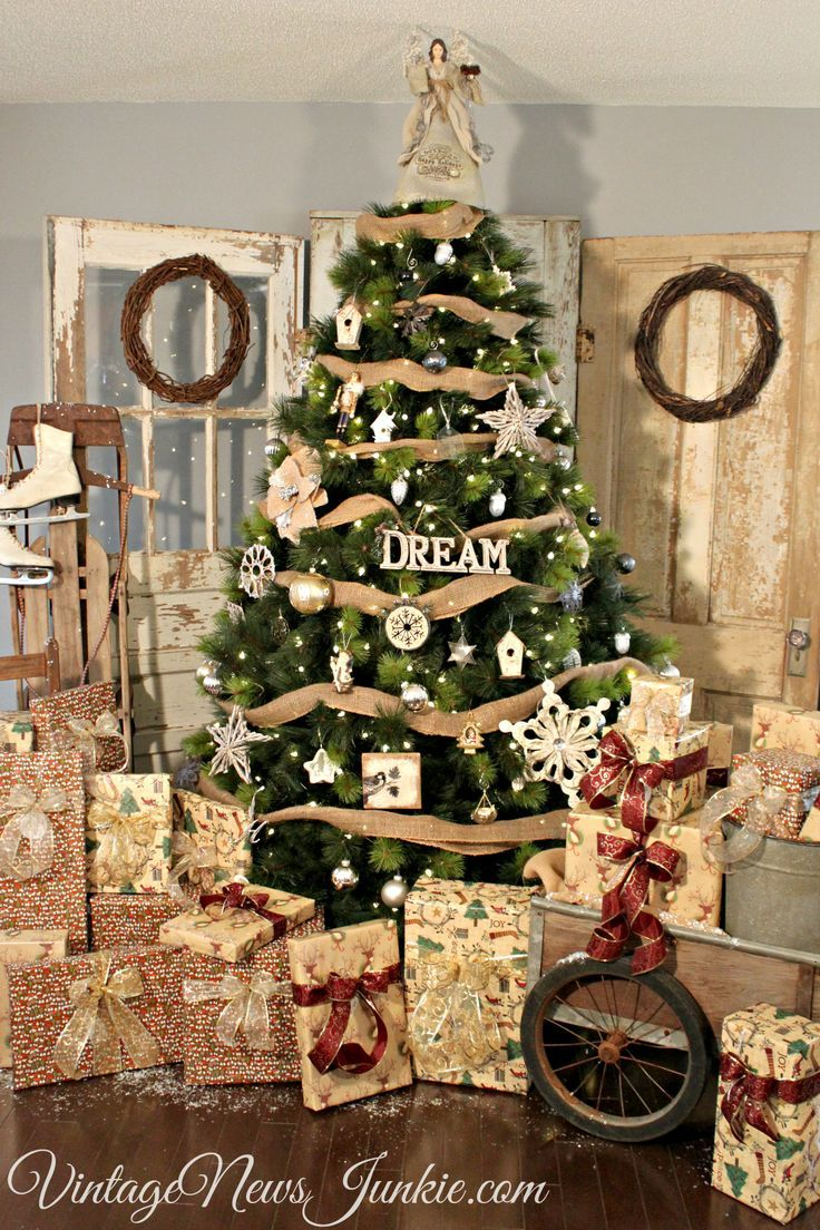 Rustic christmas decorations - Rustic Christmas