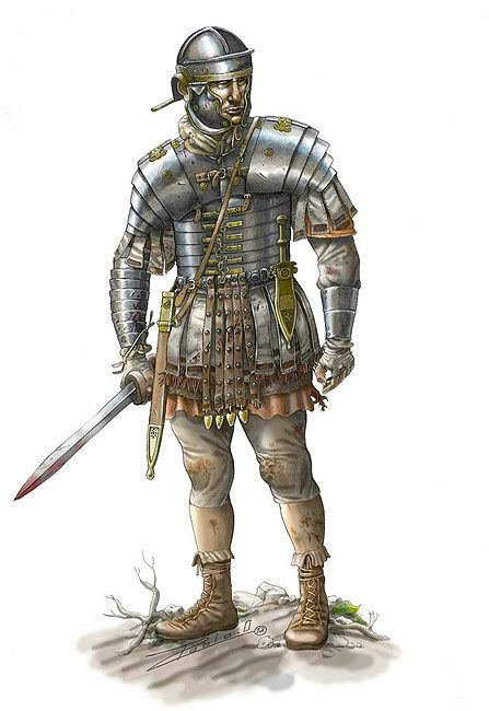 """Legionary of the Dacian wars"", Pablo Outeiral"
