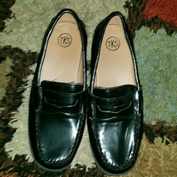 Tks church shoes TKS CHURCH shoes for boys. Size 2 but can fit a 2.5 or 3 TKS  Shoes Flats & Loafers