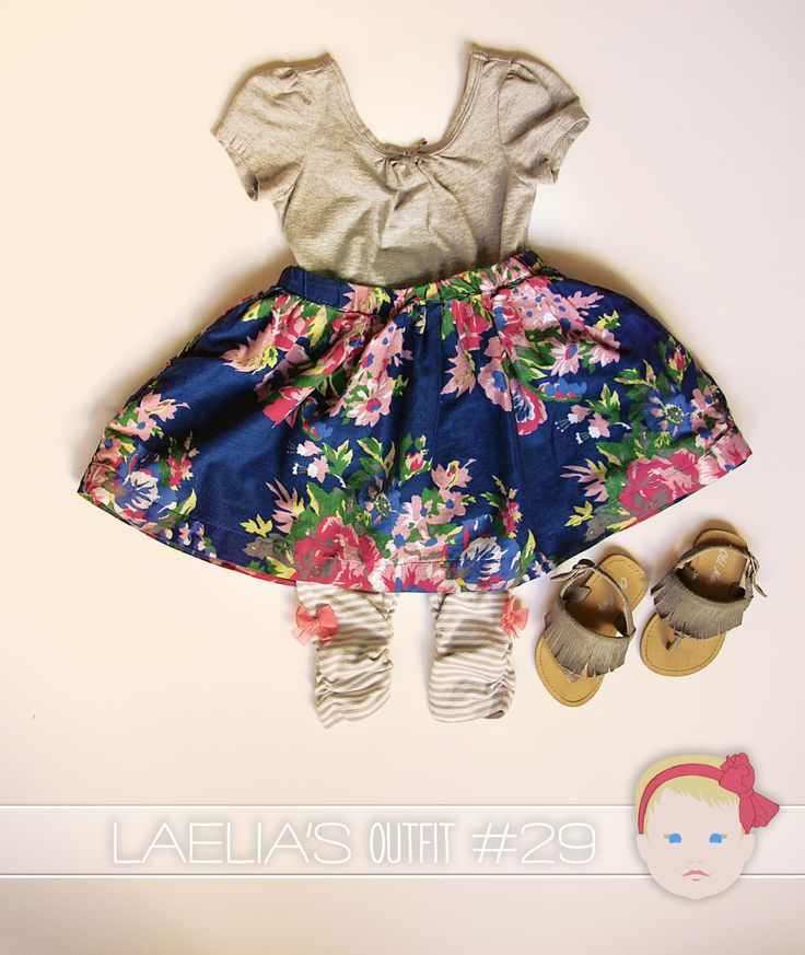 Laelia Outfit 29, via Visual Vocabulary. Target, Old Navy.