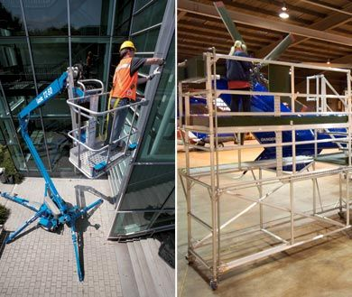 Access platforms for outside and bespoke safe accessibility