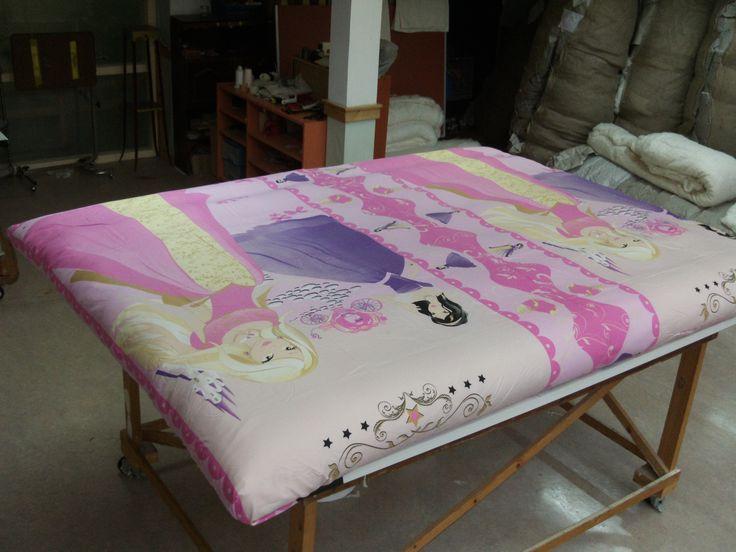 design laken om een futon