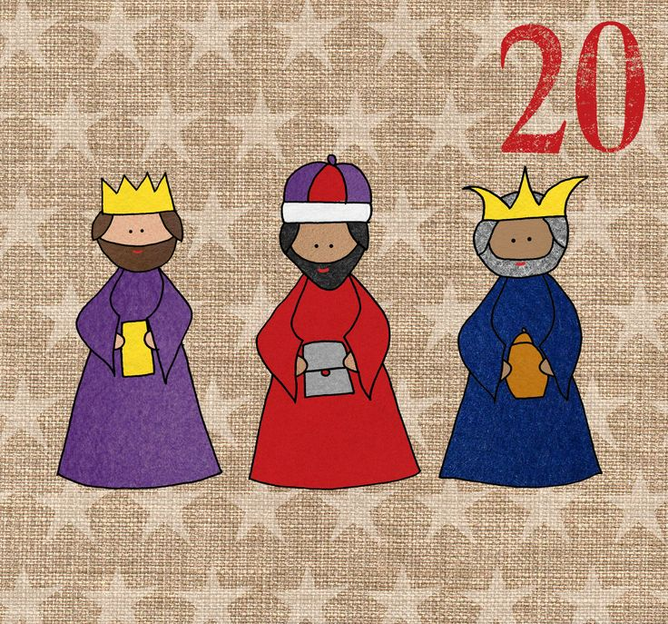 May I Design Day 20 Three Kings http://may-i-design.blogspot.co.uk/2014/12/advent-challenge-day-twenty.html