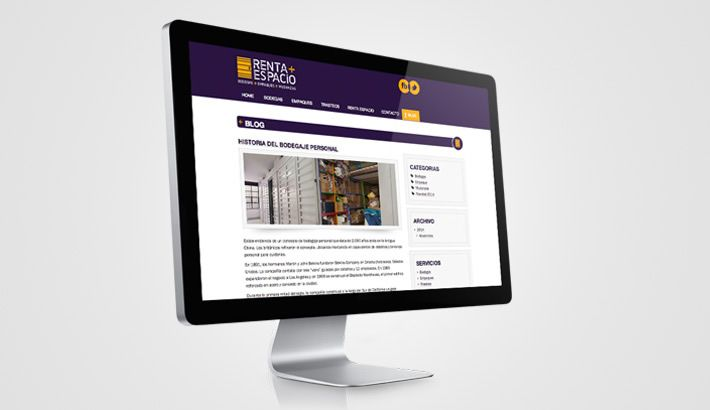 Desarrollamos el nuevo sitio web para Renta Espacio, conoce más sobre este trabajo en→http://s.designplus.co/1RentaEspac1o