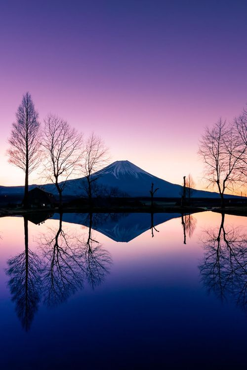 Silence of Dawn, Mount Fuji, Japan