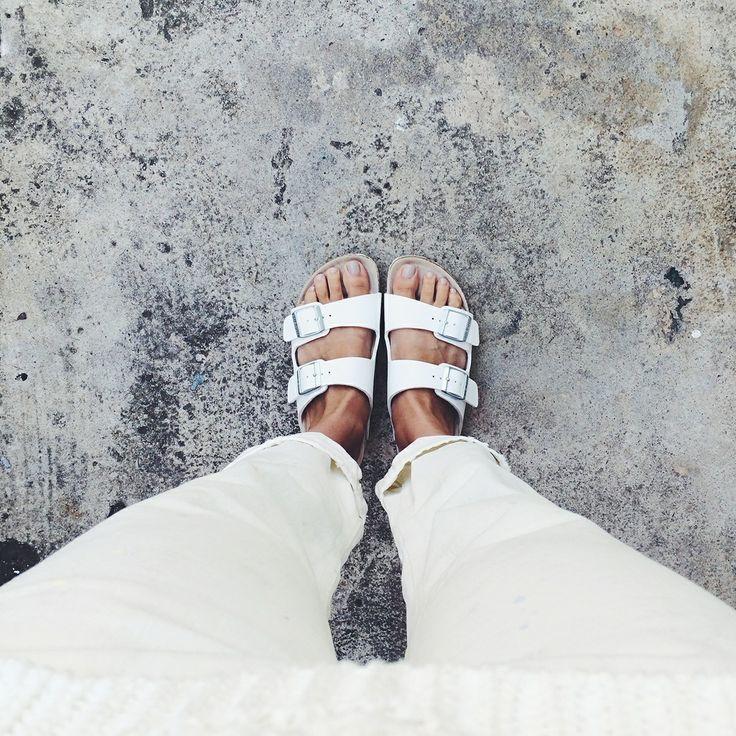 Downright white