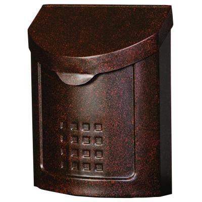 $50 HD Gibraltar Mailboxes Lockhart Locking Steel Vertical Wall Mount in Aged Copper-MBK694AC at The Home Depot