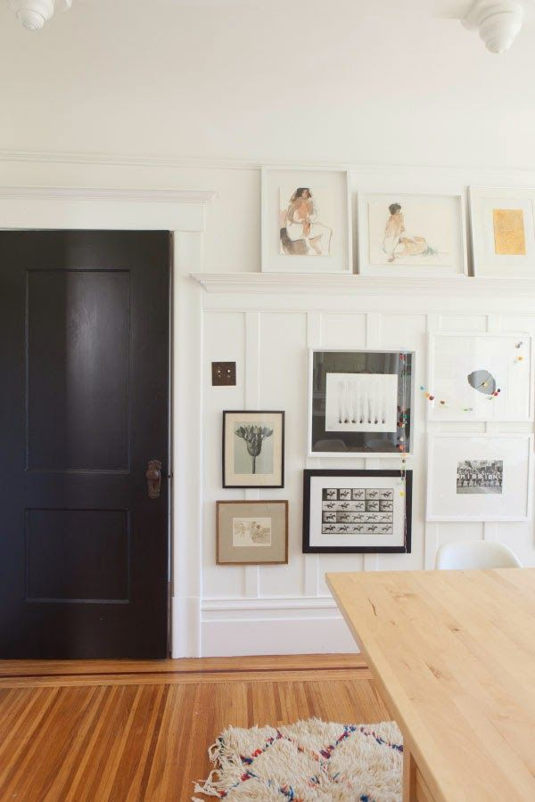 The 25 best ideas about hanging pictures without nails on for What to hang on dining room walls