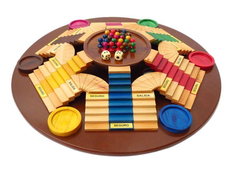 Venta de Juego de Mesa  Parques para 6 personas en 3D Diy Games, Tabletop Games, Wood Design, Wooden Toys, Board Games, Packaging, Israel, Projects, Blog