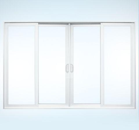 Four Panel Sliding Patio Door Premium Vinyl