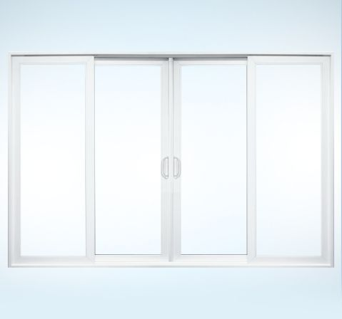 1000 images about windows doors floors on pinterest for Double sliding patio doors