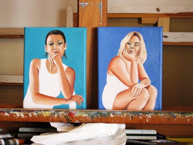 2 έργα τέχνης σε τιμή έκπληξη!!  Κάλλη Καστώρη, Maybe? 2016, λάδι σε καμβά, 20 x 15 cm / 100,00 euro  // Κάλλη Καστώρη, Expecting... 2016, λάδι σε καμβά, 20 x 15 cm / 100,00 euro  Για περισσότερα έργα της ζωγράφου επισκεφθείτε μας online! https://www.facebook.com/DLFineArtsGallery/photos/a.139218636268617.1073741829.134030573454090/499263070264170/?type=3&theater