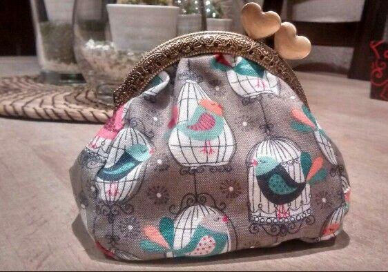 Monedero con boquilla #purse #handmade #monedero #boquilla #hechoamano #regalo #present #diy
