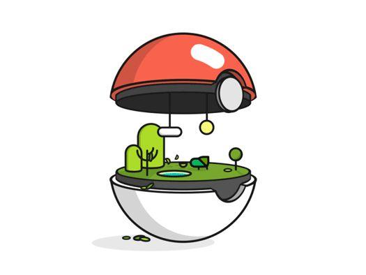 bio pokemon pokeballs quillo creative crosby 04