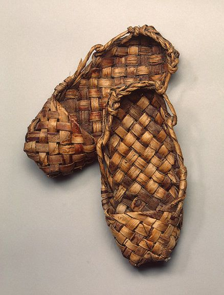 hunhe:    Bast shoes, late 19th - early 20th century, Russia