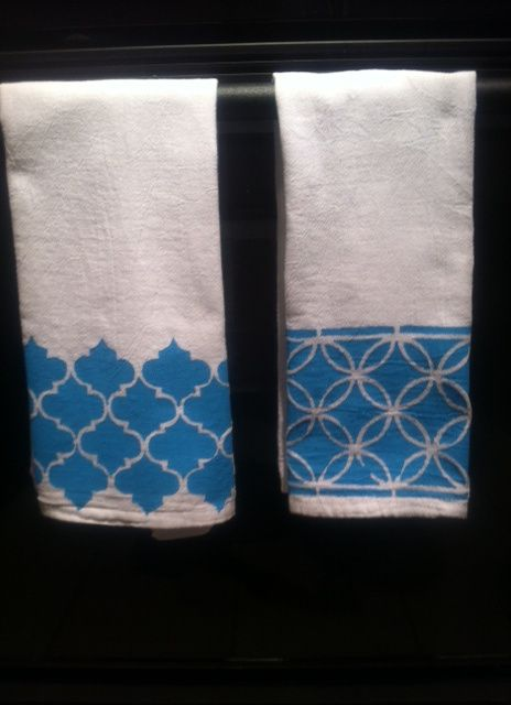135 best aprons tea dish towel diy ideas images on pinterest diy painted dish towels solutioingenieria Image collections