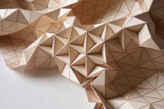 Wood Textiles: Elisastrozyk, Blanket, Elisa Strozyk, Textiles Design, Wooden Textiles, Art Installations, Wooden Art, Central Saint Martin, Surface Design