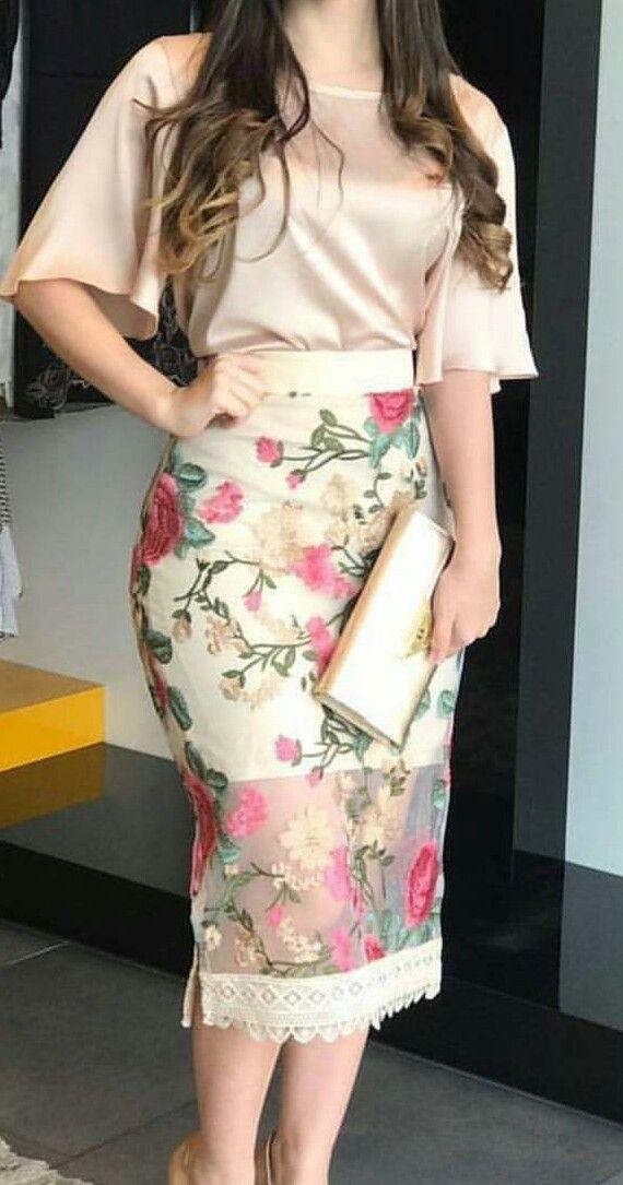 Pin De Duranrosa En Dress Day Moda Faldas Conjunto Blusa Y Falda Conjuntos Elegantes