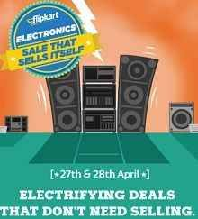 Flipkart Electronics Sale 27 – 28 April : Big Discount on Electronics Products - Best Online Offer