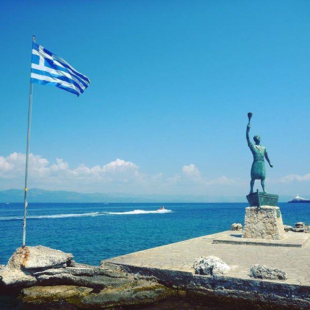 Paxos island   .  .  .  .  #greece #travel_greece #greecelover_gr #great_captures_greece #ig_greece #travel #islands #sea #summer #wu_greece