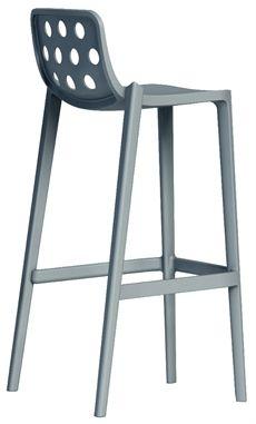 Isidoro från Gaber finns även som stol och karmstol. En barstol som kan väljas i olika färger.  #barstolar #dialoginterior