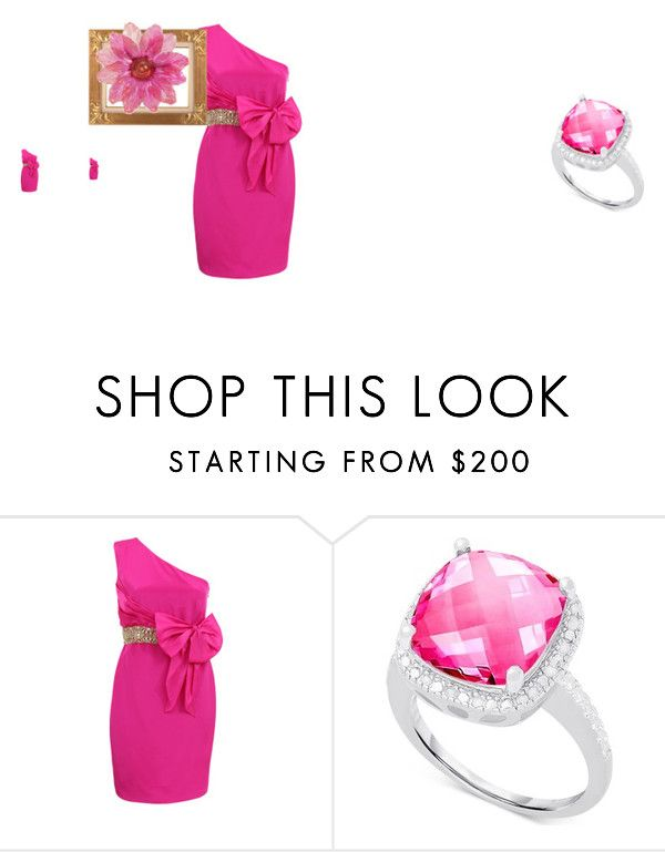 """""""chic"""" by iduranti on Polyvore featuring moda, Notte by Marchesa e Victoria Townsend"""