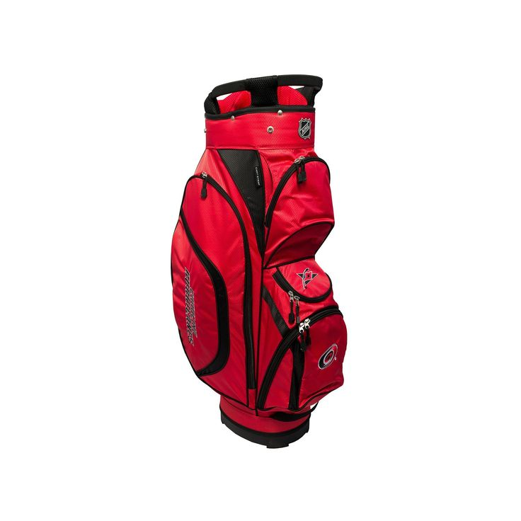 Team Golf Carolina Hurricanes Clubhouse Golf Cart Bag, Multicolor