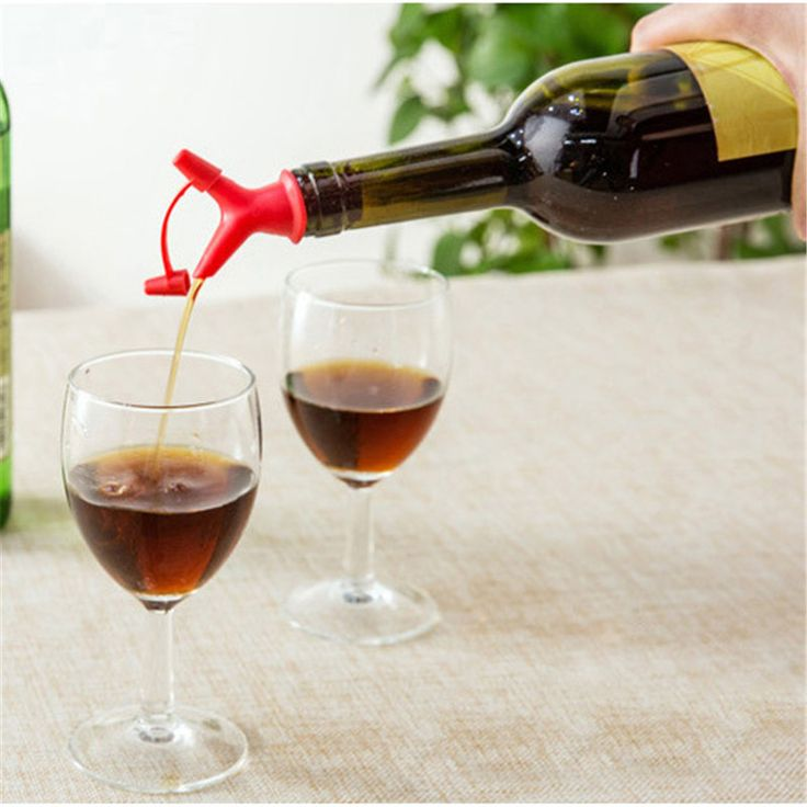 Wine Pourer Decanter Bottle Pourer Bottle Stopper Spout Dispenser Liquor Flow Olive Wine Oil Bottle Pourer 2016 New Arrival