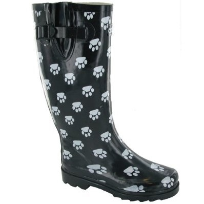 Costwold Collection Dog Paw Welly Boots Wellington Boots Wellies £29.99
