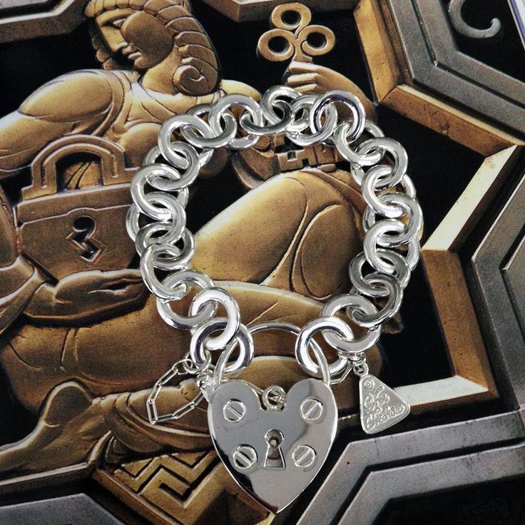 New range Von Treskow padlock bracelet