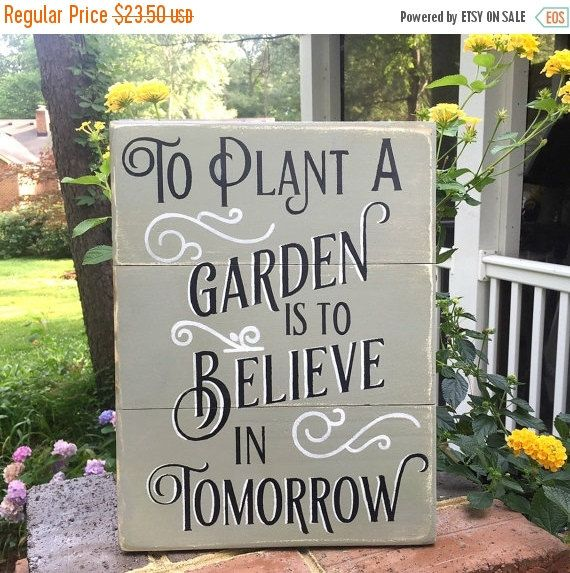 christmas in july sale garden sign gift for by asentimentalseason