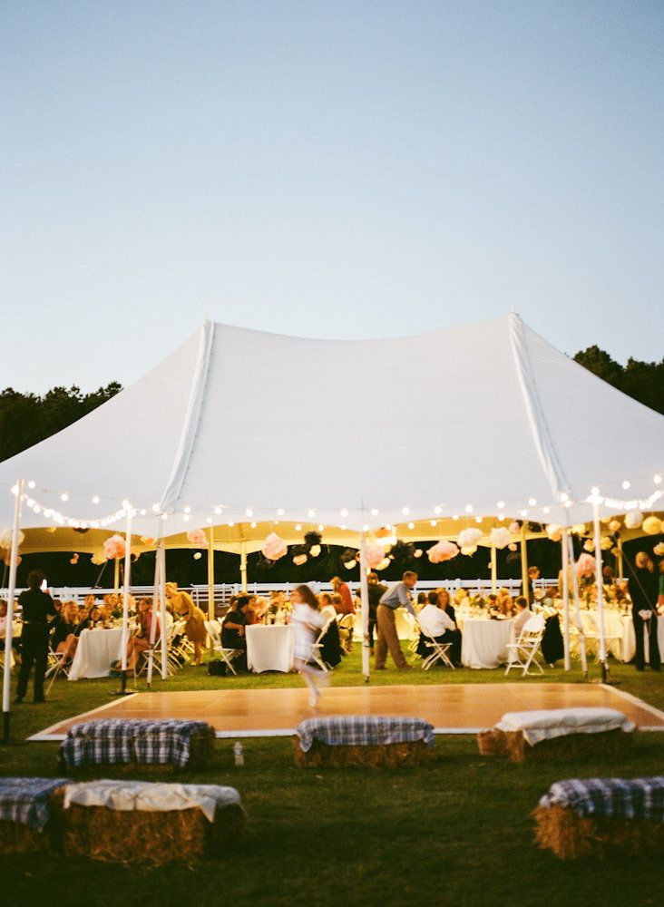 outdoor tent reception. I like the dance floor outside of the tent. Gives a nice flow
