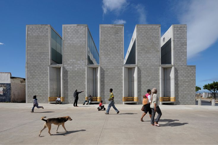 Noero and Wolff architects, Red Location Art Gallery