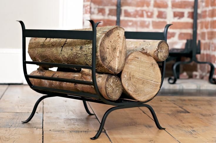 The Chappel #LogBasket is the perfect storage for the #logpile by the #fireside