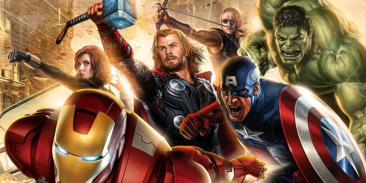 The Avengers at casino.com