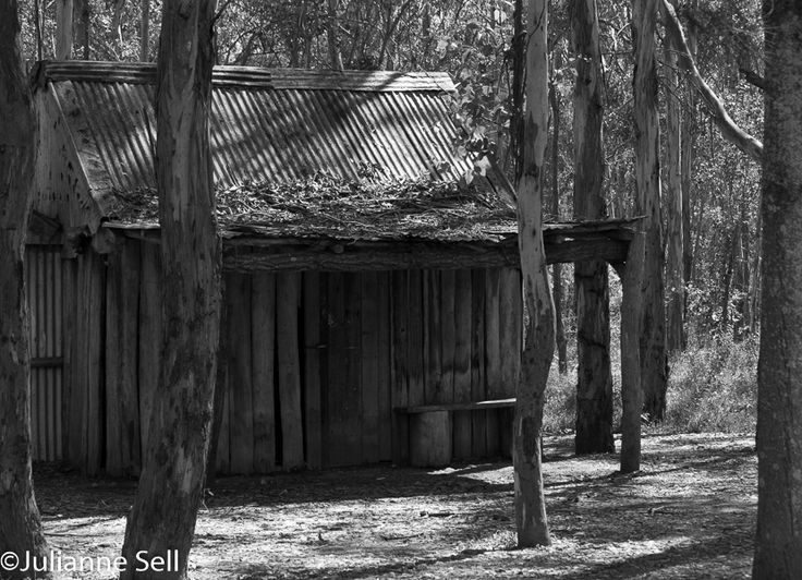 L2M1AP2 time of day shot early/mid morning with canon 600D, aperture f/5.6, shutter 1/160, ISO 200, edited in lightroom to B&W to match the era that this type of building would have been shot in.......Leah Jeanes OC trainer I'd consider going with colour, the tones are all too similar with all the wood and perhaps the contrast of the aged wood to the live trees and green grass would be more effective as a story telling device.