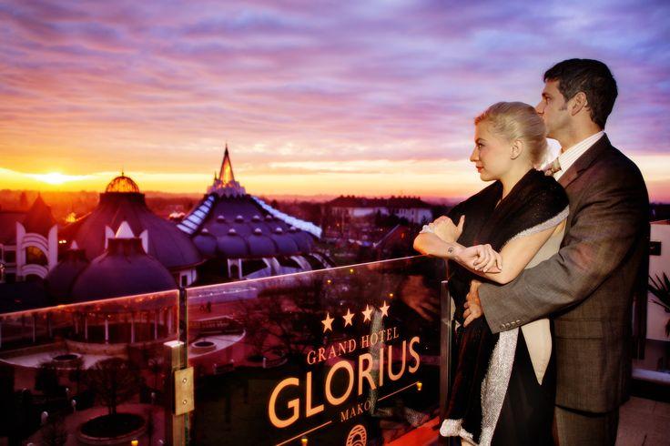 Grand Hotel Glorius Makó - panoramic view to the Hagymatikum Thermal Bath http://glorius.hu