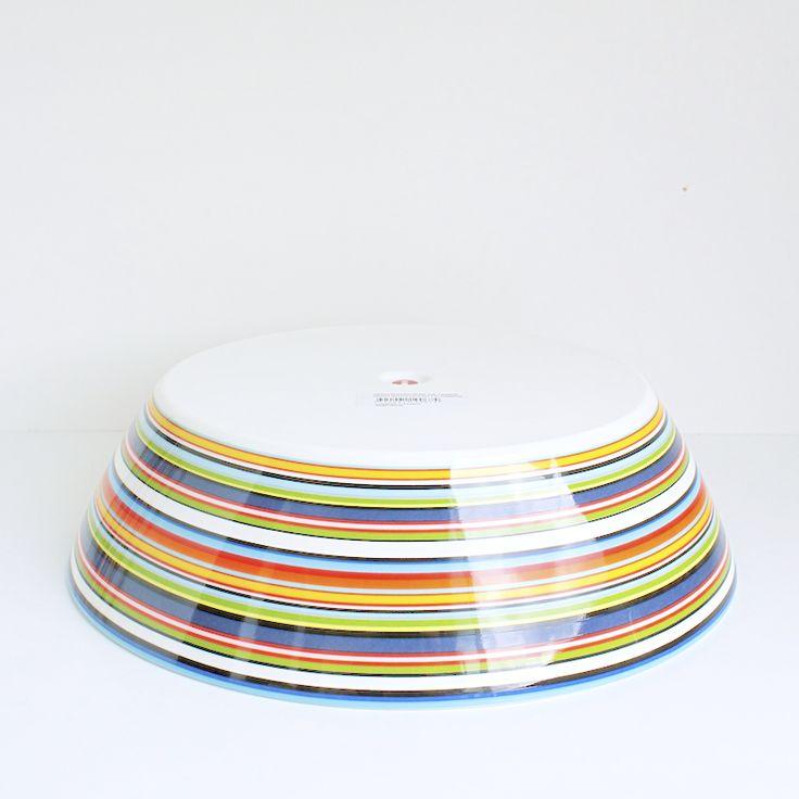 #Origo orange, #bowl ⌀25,5 cm. / 2 l.