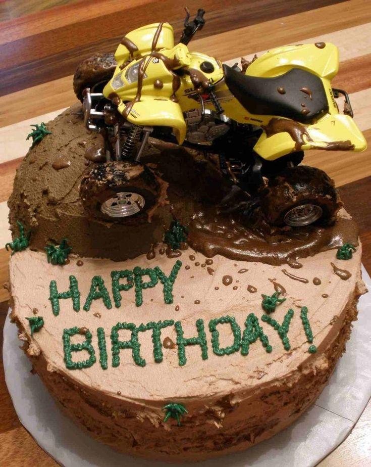 4 Wheeler Birthday Cake  on Cake Central
