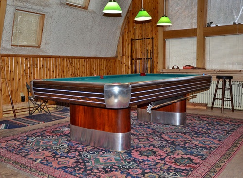 Antique Brunswick Pool Table | EBay | Party Room | Pinterest | Brunswick  Pool Tables, Pool Table And Game Rooms