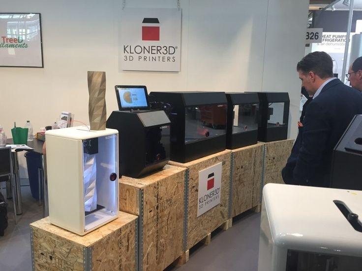 Kloner3D's Dual Arm 3D Printer - 3D Printing Industry #3DPrinting #Manufacturing #STEM