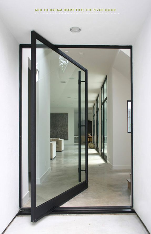 PIVOT DOOR- dream home