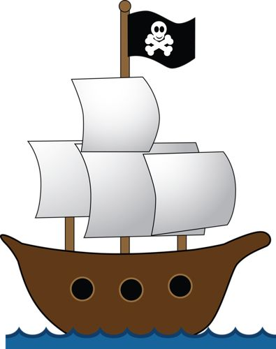 69 best pirate clipart images on pinterest clip art illustrations rh pinterest com pirate ship clip art images pirate ship clip art images