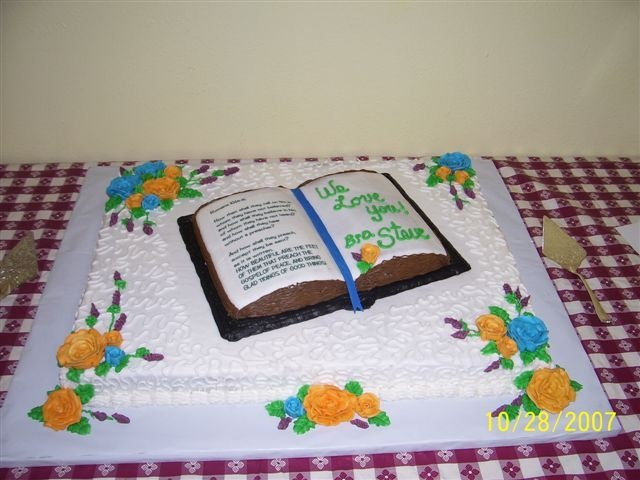 22 best images about Pastor Appreciation cakes on ...