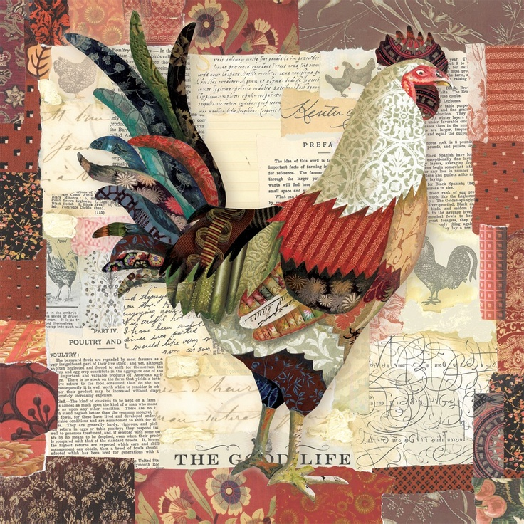 Beauty In Nature Rooster by Lori Siebert. Gallery wrap by InGallery.com