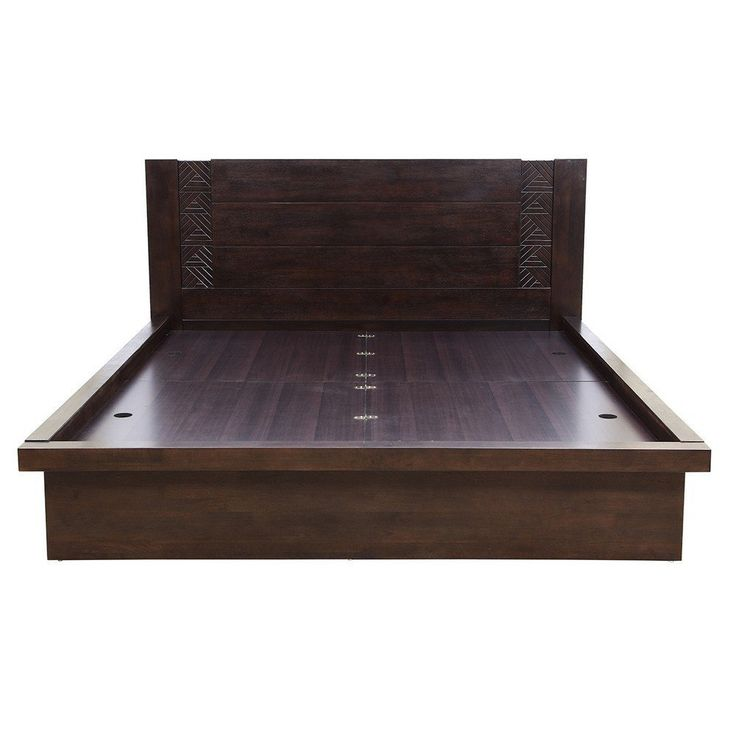 HomeTown Fabian Queen Bed (Matt Finish, Wenge) - Where Can I Buy The Best Furniture